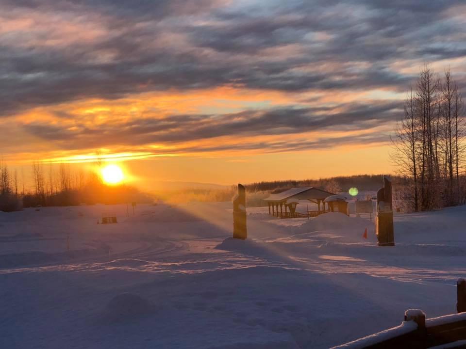 JJS Outdoors snow report at Susitna Landing–2/5/19