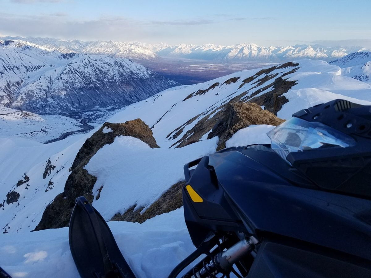 Hatchers Pass Snow Riders Club report–2/4/19